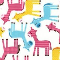 Patchworkstoff *Donkey Love* Reststück von 74x110 cm