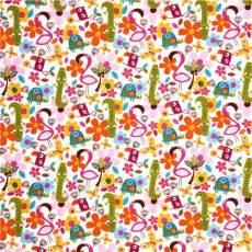 Patchworkstoff *Flamingo Fling* Northcott REST 92 cm x 110 cm RK55