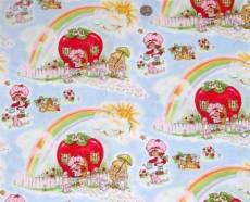Patchworkstoff Quilt Stoff Emily Erdbeer Regenbogen