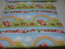 Patchworkstoff Quilt Stoff Emily Erdbeer Beistoff A Regenbogen