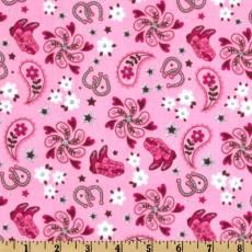 Patchworkstoff *Western pink* Michael Miller
