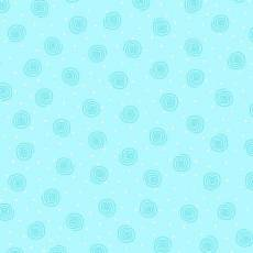 Patchworkstoff Flanell *Blue Swirl* Flannel