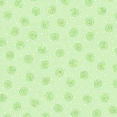 Patchworkstoff Flanell *Green Swirl*