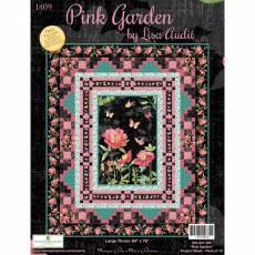 Nähanleitung *Pink Garden* Wilmington Prints 74 x 76 Inch