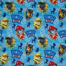 Jersey PAW PATROL Hundeköpfe Rubble Rocky Marshall Chase blau gelb rot J079562-608200