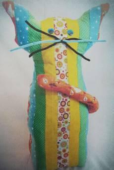 Materialpackung Katze Garfield Türstopper Kinderprojekt groß MP21-0040