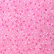 Patchworkstoff Flanell *Pink Mini Stars Flannel*  Sterne 9831AE-22