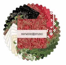 Patchwork Charms Weihnachten Holiday Christmas Plaids rot grün creme schwarz braun gold CP-MASGLT