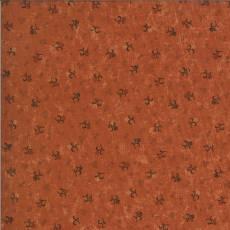 Patchworkstoff Pumpkin Chokeberry Apfelbeere Knospen rot weiß blau gelb orangerot 9644-17