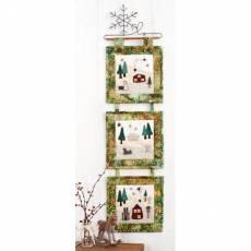 Materialpackung Patchwork Wandquilt 3-teilig *Winter Wonderland* MP21-0102
