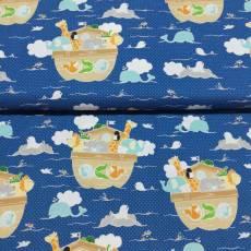 Kinderstoff Baumwollstoff *little Ark* by Carina Gardner Arche Noah RB-C3830