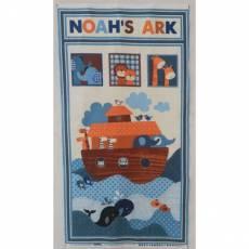 Patchworkstoff Kinderstoff Panel *Noah s Story* by Swizzle Stick Studio StE3660P