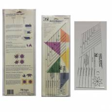 Easy Eight by Sharon Hultgren Lineal Ruler Eight Pointed Stars EE882670152