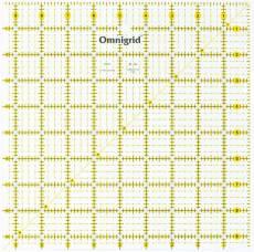 Lineal Ruler 4 1/2  Inch x 4 1/2 Inch Omnigrid OG R45G