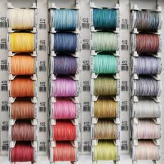 Gütermann creativ Cotton Multicolor Farbverlaufsgarn 300 m Maschinenstickfaden Garn Farbkarte1