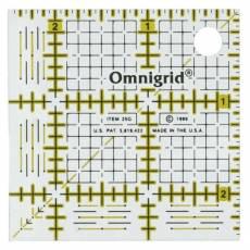 Lineal Ruler 2 1/2  Inch x 2 1/2 Inch Omnigrid OG R25G