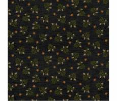 Patchworkstoff Quilstoff *Country Journey* Black Wheat Star Calico Ähren grün schwarz Sterne HG2435-99