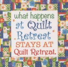 Patchwork Stoff Quilt Art Panel Quilt Retreat Art Panel AP6.28
