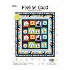 Nähanleitung *Feeline Good* by Stephanie Marrott Wilmington Prints Twin Panel Quilt 64 1/2 Inch x 73 1/2 Inch WP 1031