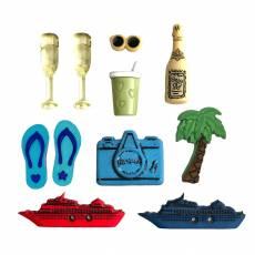 Knopf Packung Sea Cruise Buttons Galore & More Strand Urlaub Kreuzfahrt 4346