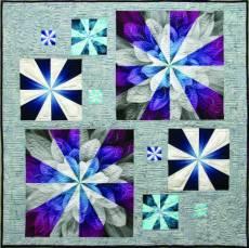 Nähanleitung *Bursting Blooms* blühende Blumen CMD132