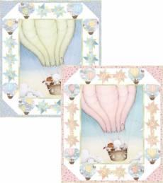 Nähanleitung *Up, Up & Away* Tiere im Heißluftballon PT1656