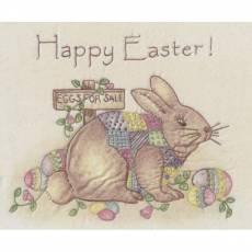Nähanleitung *Happy Easter Bunny* Osterhase Ostereier CDH731N