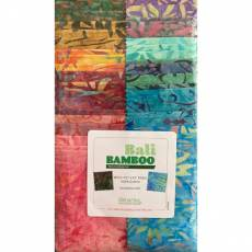 Stoffpaket Batik *Bali Bamboo* Strip-pies 40 Stück 2,5 x 42 inch Batik STBAMPK