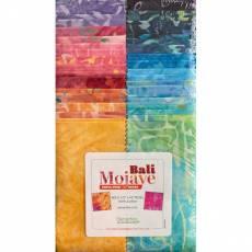 Stoffpaket Batik *Bali Mojave* Strip-pies 40 Stück 2,5 x 42 inch BATIK STMOJPK