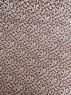 Patchworkstoff *Rosies Garden* Rosen Ranken rot grün beige SF MS14-003
