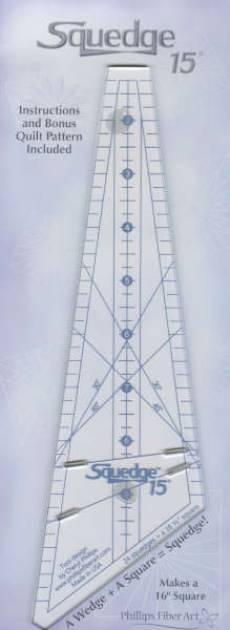 15 Degree Squedge Ruler Lineal SQ15