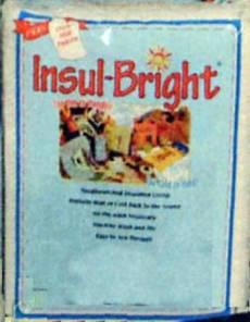 Insul Bright - The Warm Company REST 35 x 112 cm Isolierende Einlage 6320WN