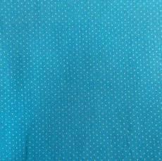 Patchworkstoff Quilt Beistoff Punkte weiß blau Sevenberry 88190-1-55