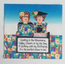 Patchwork Stoff Quilt Art Panel Quilters AP7.1