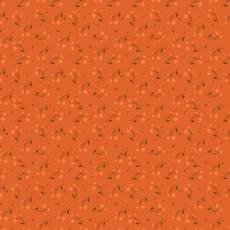 Patchworkstoff *Autumn Berries Persimmon* Herbst Beeren dunkel orange grün C10823R-PERS