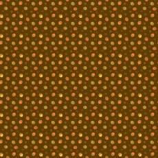 Patchworkstoff *Autumn Acorns Chocolate* Herbst Eicheln braun orange grün C10824R-CHOC