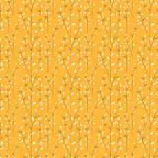 Patchworkstoff *Autumn Vines Gold* Herbst Wein Ranken creme orange C10826R-GOLD