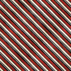 Patchworkstoff *Time For Hot Cocoa* Streifen schwarz rot weiß creme WP 30528-939
