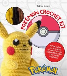 Pokémon Crochet Kit Häkel Packung Pikachu Pokemon Wolle häkeln gelb schwarz braun POK21-0001
