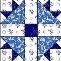 Quilt Block September 12,5 inch Quadrat CROSS AND CROWN