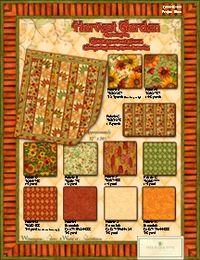 Kostenlose Nähanleitung `Quilt Harvest Garden` von Robin Betterley