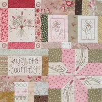 BOM Journey of a Quilter - Block 1 - Leanne Beasley