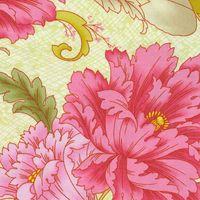 Savannah Patchworkstoff grosse Blumen