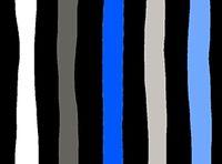 Patchworkstoff Fantasia Stripes blau schwarz weiss Streifen