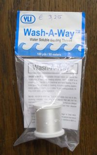 Wash-a-Way thread, auswaschbares Näh-Garn