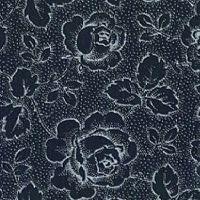 Patchworkstoff Westfalen Serie Rosengarten; schwarz-weiss 150cm