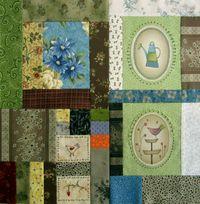 Gundis Garden Quilt Block 9 Materialpackung mit Anleitung