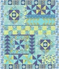 Kostenlose Nähanleitung für Quilt Gypsy Breeze