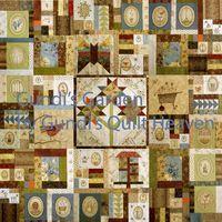 Gundis Garden Quilt Block 1-10 Materialpackung mit Anleitung SONDERPREIS, eine Lieferung