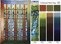 Kostenlose Nähanleitung A brand new day Quilt von Vicki Stratton